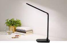 Asztali lámpa órával